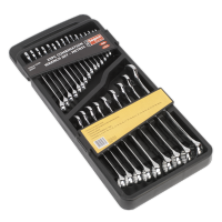 25pc Combination Spanner Set Metric. S0564